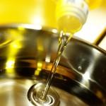 olio per friggere