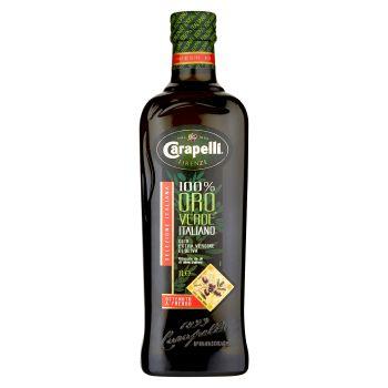 Olio extravergine di oliva Carapelli Oro Verde