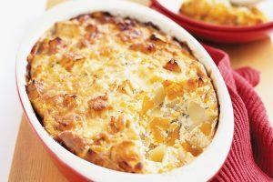 Tortino di alici e patate al forno